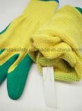 De latex Met een laag bedekte Handschoenen van de Veiligheid van de Tuin/van de Arbeid Beschermende