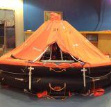 Autoadrizables / inflable rígido balsa salvavidas con sincronizador Ronda, Certificación Hru Solas / Med