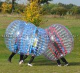 Bola de parachoques de la promoción, bola de la burbuja del cuerpo Zorbing, bola inflable de la venta para la venta, fútbol D1005b del fútbol de la burbuja