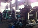 컨베이어 벨트 만들기를 위한 3개의 롤 고무 윤내는 기계