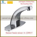 Robinet automatique de bassin de l'eau de détecteur d'articles sanitaires de chrome
