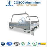 Cosco verdrängte Aluminium-/Aluminiumtellersegment-Karosserie für LKWas