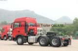 Sinotruk HOWO 6X4のディーゼル機関のユーロ4の頑丈なトラクターのトラック