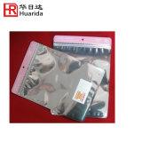 Verpakkende Zak van de Kleding van de Aluminiumfolie van de Druk van de gravure de Plastic met Ritssluiting