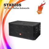 """Stx828s PAのサウンド・システムはボックス18 """" Subwooferのスピーカー二倍になる"""