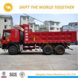 18cbm容量のHongyan Genlyon 6X4 25tonのダンプカートラック