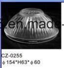 自動照明のための型によって押される非球面のホウケイ酸塩ガラスのドーム