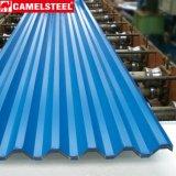 Prepainted лист оцинкованной волнистой стали