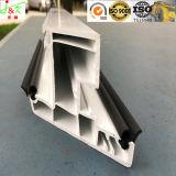 Profil d'extrusion en caoutchouc de silicones de GV pour la construction