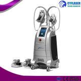 Cryolipolysis profesional que adelgaza la máquina con 4 manetas para el peso de la pérdida