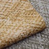 Cuoio Chain quadrato stampato del PVC di struttura per l'imballaggio del sacchetto