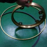 Los anillos de mecanizado CNC en cobre o POM de gran diámetro