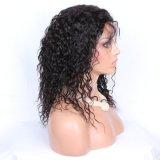 브라질 Virgin 비꼬인 꼬부라진 사람의 모발 가득 차있는 레이스 가발