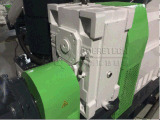 Plastique réutilisant et machine de pelletisation pour les sacs enormes en plastique