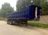 3 Eixo Semi-Trailer Descarga Lateral 70 ton de Carga do Reboque Lateral