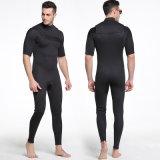 Короткое замыкание гильзы с передней молнией гидрокостюм &3мм неопрена с аквалангом костюм&Super Stretch 3мм спортивной одежды