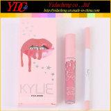 2017新しいKylie Jenner 2in1の液体の無光沢の口紅及びリップはさみ金の化粧品のリップの光沢キット