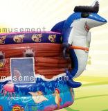 2 de 1 Tema Marino personalizada barco saltando con la diapositiva y Bouncer