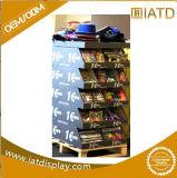 Vente de l'étalage acrylique de supermarché d'étalage de bruit d'étagères de carton d'étagères de supermarché d'étalages