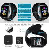 Горячий/самый дешевый телефон вахты Bluetooth франтовской с гнездом для платы Gt08 SIM