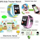 1.54 '' écrans tactiles badinent la montre de traqueur de GPS avec le bouton de SOS (Y12)