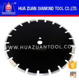 Lâmina de serra circular diamantada para corte em asfalto com longa vida útil