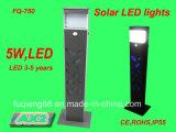 Indicatore luminoso esterno di Solargarden di vendita calda Fq-750 2016