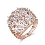 De nieuwe Ring van de Manier van het Bergkristal van het Kristal van de Kleur van de Aankomst Witte
