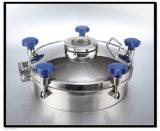 Люк -лаз нержавеющей стали качества еды с стеклом визирования (VE-03)