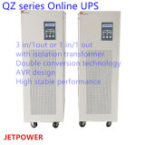 STROMVERSORGUNG der Qz Serien-50kVA 3 in/1-out Niederfrequenzonline-UPS
