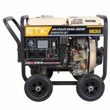 Seul vérin refroidi par air Générateur Diesel De type ouvert