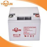 12V 38ah dichtete Leitungskabel saure wartungsfreie UPS-Solarbatterie