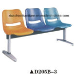 パブリックのための多彩なプラスチック家具の椅子の待っている椅子