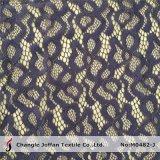 Африканская металлическая ткань шнурка для сбывания (M0482-J)