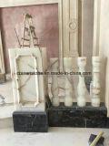 Barandilla de mármol blanco chino Onxy/ Pilar de la Villa de decoración
