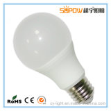 Material plástico de la alta calidad viga Angl6000k de 270 grados 12 vatios de bulbos del LED
