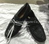 Hombres y señora usados al por mayor cómodos Shoes Sport Shoes, zapatos de cuero, zapatos de Leasure (FCD-005)