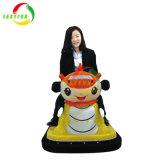 Guangzhou Amusement Park la vente de musique de la batterie de voiture de bouclier de gâteau avec barre de lumière kiddie ride Arcade Machine de jeu