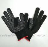 Перчатки работы безопасности работы многоточий PVC защитные