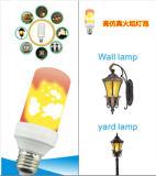 Lampe/ampoule de clignotement de flamme de l'effet DEL de flamme de la décoration DEL du festival E27