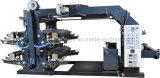 Weiche Flexography 4 Farben-nicht gesponnene Drucken-Maschine Zxh-C41200