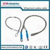 炭素鋼の鞭の小切手の安全ケーブル
