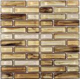 Mosaico do cristal da tira de Brown