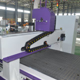 Máquina do CNC do Woodworking do ATC do Ce