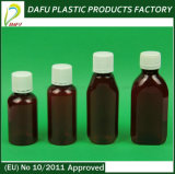 bottiglia ovale della medicina di figura dell'animale domestico 120ml