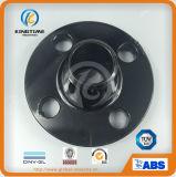 A flange de Wn do aço de carbono de A105n forjou a flange com Ce (KT0059)