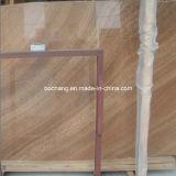 De natuurlijke Houten Marmeren Plak van de Steen van de Korrel, Marmeren Tegel, de Tegel van de Vloer