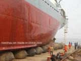 China Marine Rubber Airbags para Ship Launching y Landing