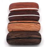Visualización de madera de la tuerca que muestra la base para los vidrios