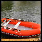 Aqualand 12feet 3.6m Gummischlauchboot-MilitärRettungsboot/aufblasbares Sport-Fischerboot (aql360)